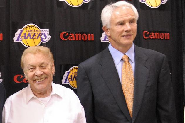 Mitch Kupchak Says LA Lakers Wanted to Win Now for Ailing Jerry Buss