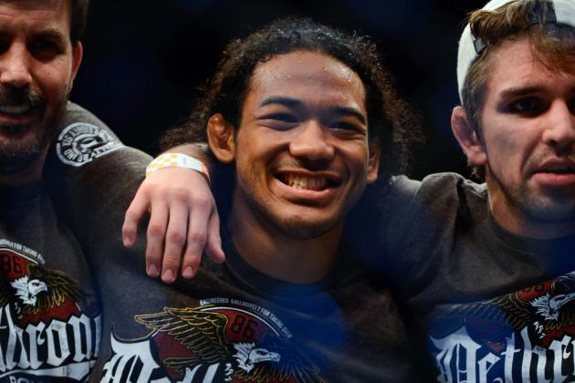 Benson Henderson Asks for Fight Against Georges St-Pierre; White Says No Way