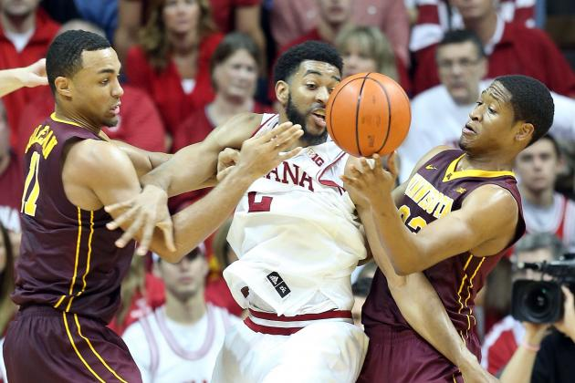 Indiana Basketball: Top-Ranked Hoosiers Fall to Minnesota, 77-73