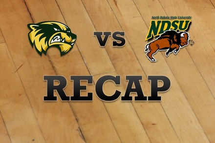 Utah Valley vs. North Dakota State: Recap, Stats, and Box Score