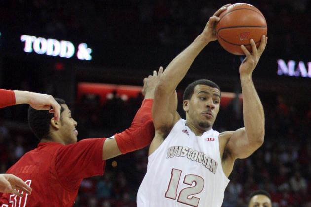 No. 17 Wisconsin 77, Nebraska 46
