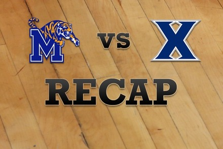 Memphis vs. Xavier: Recap, Stats, and Box Score