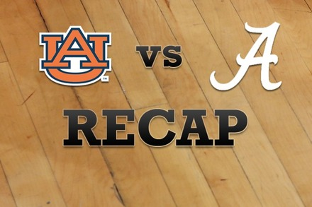 Auburn vs. Alabama: Recap, Stats, and Box Score