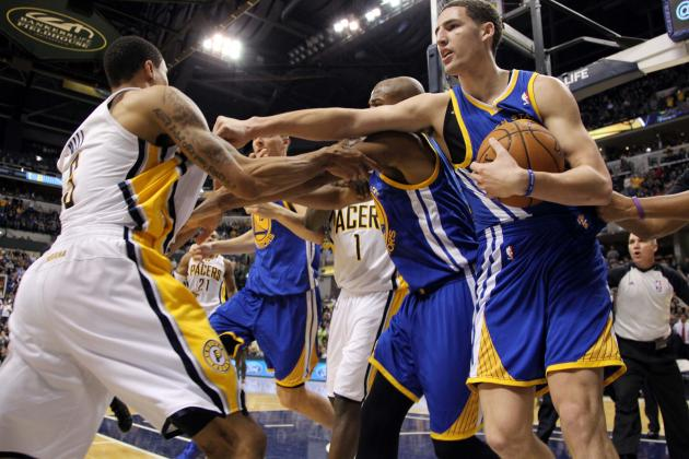 Roy Hibbert Ejected as Pacers and Warriors Involved in Altercation
