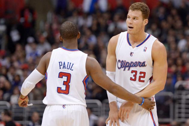 Video: Clippers' Chris Paul to Blake Griffin Long Distance Alley-Oop Dunk