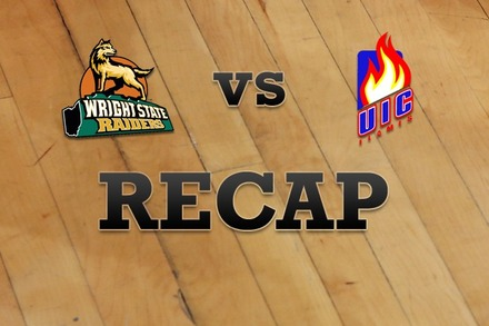 Wright State vs. Illinois-Chicago: Recap, Stats, and Box Score