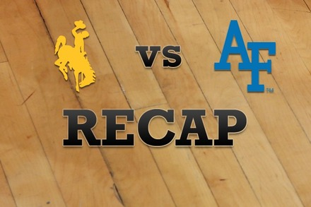 Wyoming vs. Air Force: Recap, Stats, and Box Score