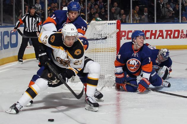 Boston Bruins' 3rd Line Makes Intangible Impact Against the NY Islanders