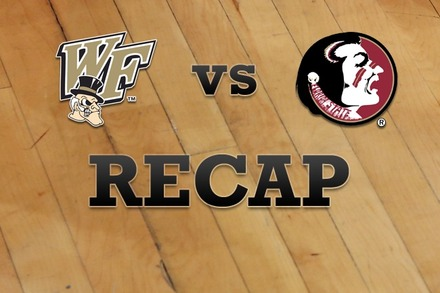 Wake Forest vs. Florida State: Recap, Stats, and Box Score