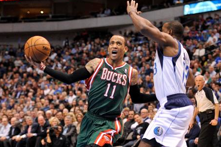 Bucks Go with Monta Ellis Down Stretch Against Mavericks