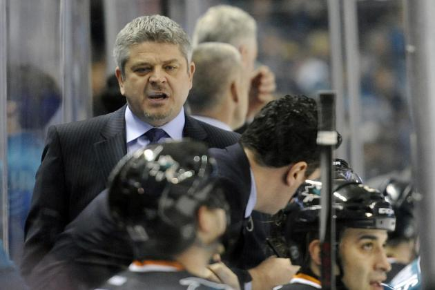 San Jose Sharks: McLellan and Wilson's Jobs Are Safe…for Now