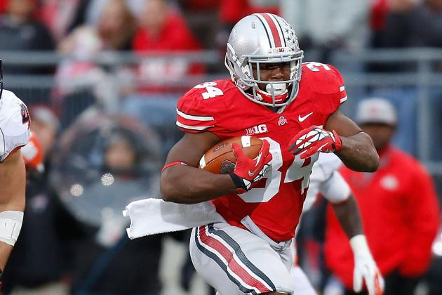 Carlos Hyde Is the Best Running Back in the Big Ten