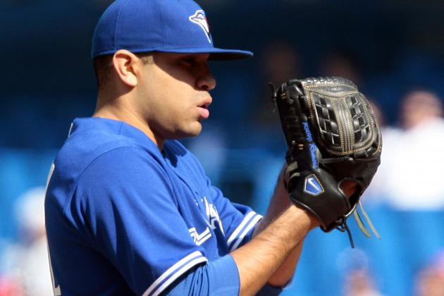 Blue Jays Pitcher Ricky Romero Using His Sinker in a Bid to Rise Again