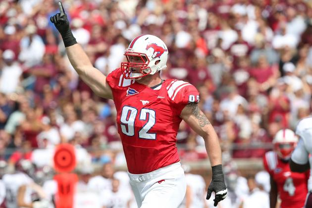 Does Margus Hunt's Dominating Combine Performance Reflect on Game Film?