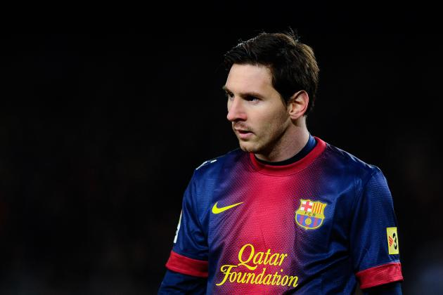 Barcelona Says Lionel Messi Has a Fever
