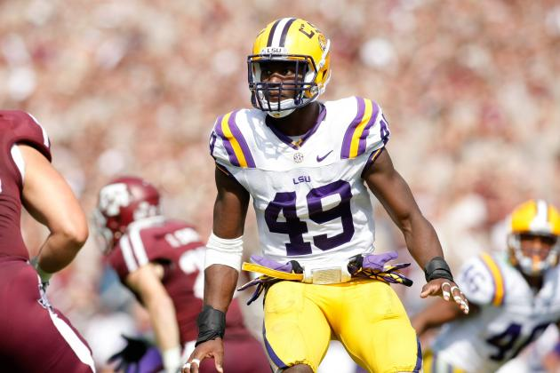 LSU's Barkevious Mingo Is Making Waves at the NFL Scouting Combine