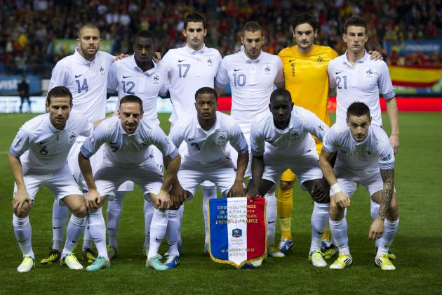 New France 2013 Away Kit Is a Thing of Pale Bleu Beauty (Photos)