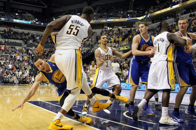 Roy Hibbert Prepared for Suspension After Pacers, Warriors Fight (Video)