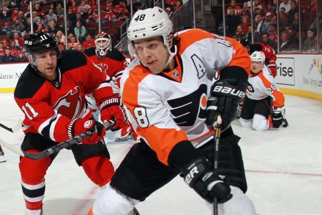 Flyers' Danny Briere Not Interested in Change of Address