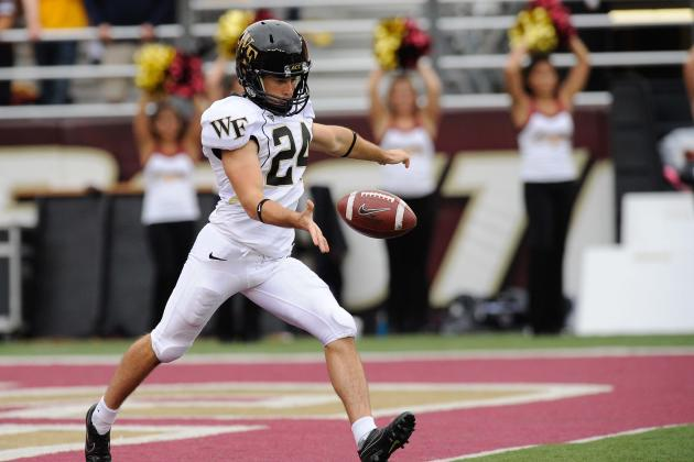 Notre Dame Football: Wake Punter Finds a Way to ND