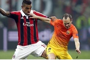 Barca Will Eliminate Milan, Says Iniesta