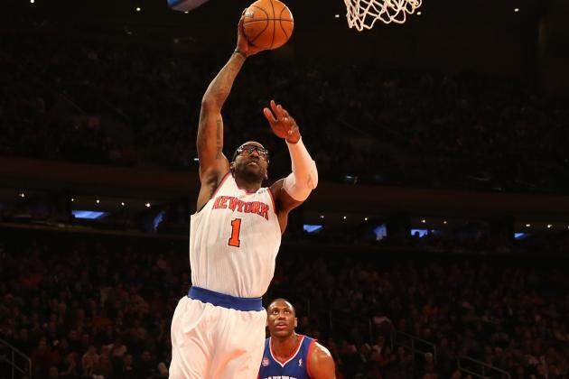 Amar'e Stoudemire Approves of 30-Minute Limit on His Playing Time