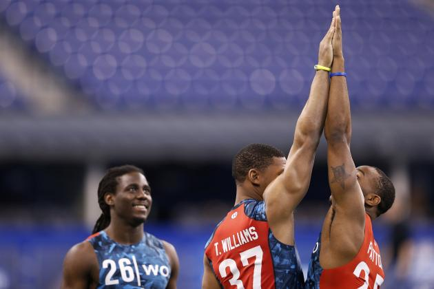 Denard Robinson Enjoyed NFL Combine, Banters and Barters with Dan Patrick