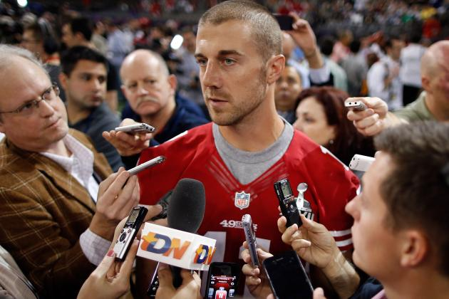 Framework of a Trade: Alex Smith to Kansas City for a 2nd-Round Pick