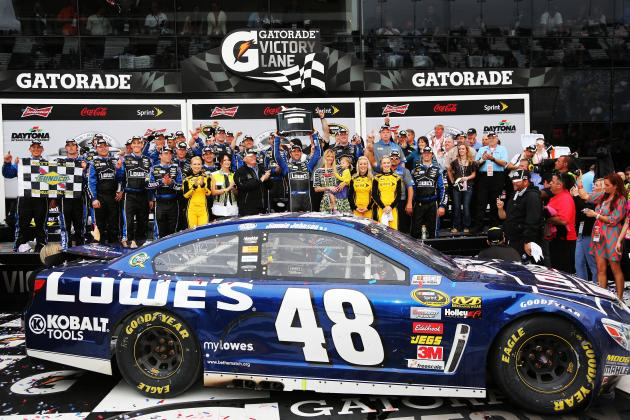 Jimmie Gets New Contract with Lowe's