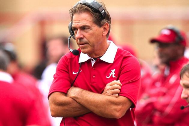 Nick Saban Dismisses 4 Alabama Players from Team After Criminal Charges