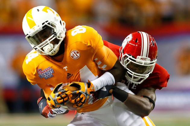 Tennessee Speedster May Appeal to Bills' Deep Thinkers