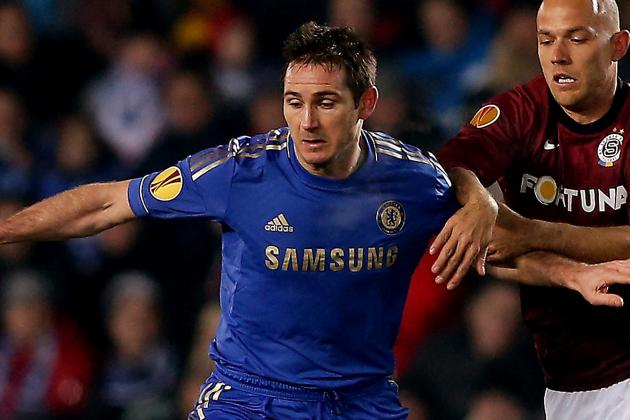 Terry Returns, Lampard Not in Lineup