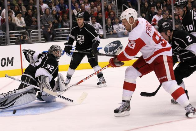 NHL on NBCSN: Kings, Red Wings Fight to Stay Hot