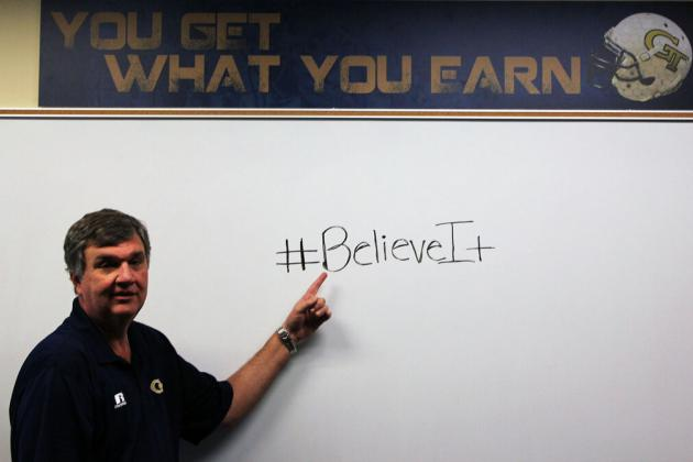 PHOTO: Paul Johnson Has a Message for His Twitter Doubters