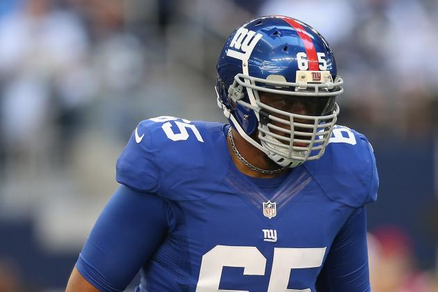 Will Beatty Resigns with Giants on Five-Year Deal Worth Up to $38.75 Million