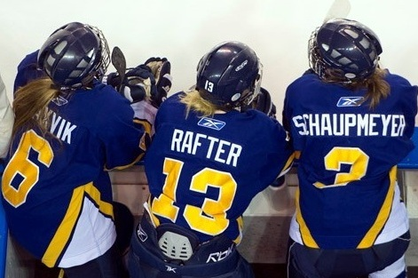 High Flying UBC Thunderbirds Emerge as Feel Good Story of CIS Women's Hockey