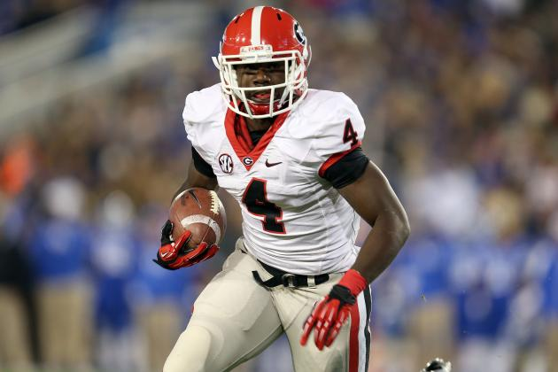 Georgia Football: No Need to Worry About Keith Marshall's Hamstring Injury