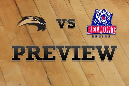 SIU Edwardsville vs. Belmont: Full Game Preview
