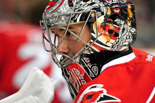 Cam Ward Robs Joel Ward: Ranking the Hurricanes Goalie's Best Saves (VIDEO)