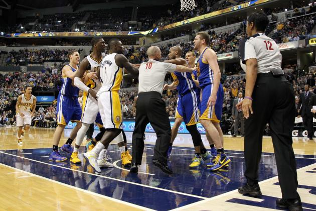 Debate: Who Is Most to Blame for the Warriors-Pacers Brawl?