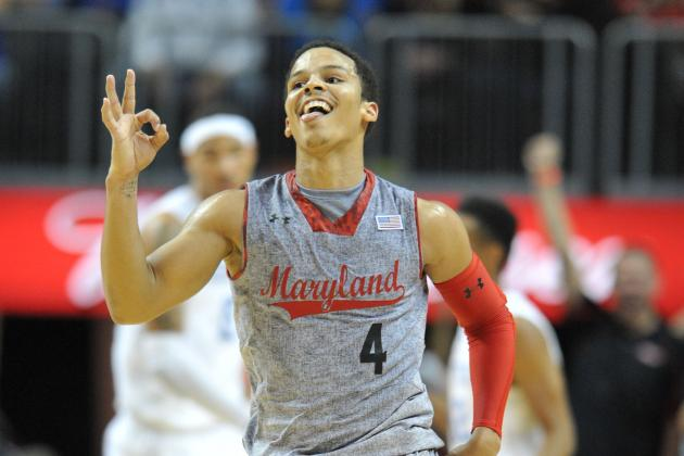 Terps Freshman Seth Allen Battled Back from Brutal Injury
