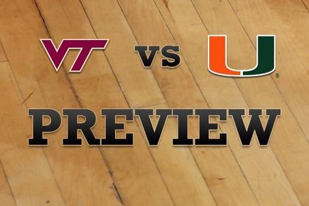Virginia Tech vs. Miami: Full Game Preview