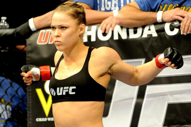 Ronda Rousey Staying Focused on Fighting but Won't Ignore Hollywood's Calls
