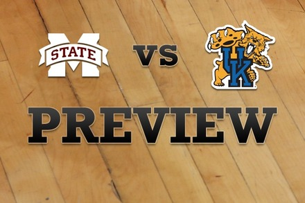 Mississippi State vs. Kentucky: Full Game Preview