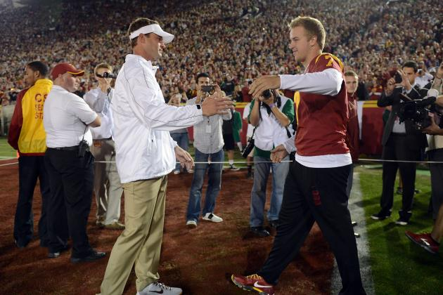 Kiffin: USC's Defense Soured QB Barkley's Stock