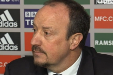 Benitez Slams Chelsea Fans and Board
