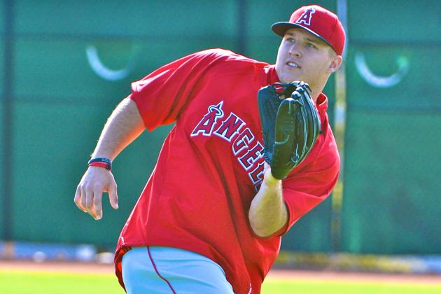 Scioscia: Trout's Extra 10-15 Pounds No Worry