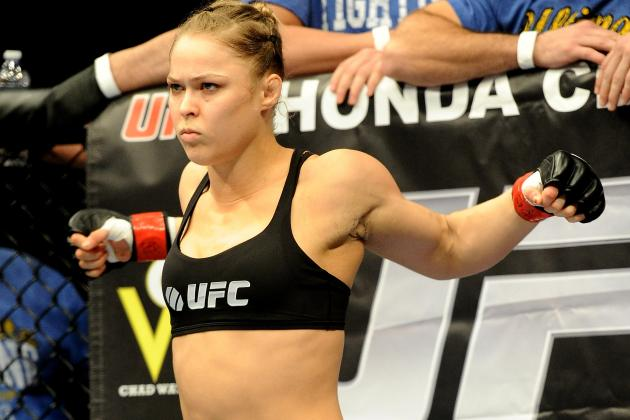 Ronda Rousey: Big Sales from Bout Will Lead to Growth of Women's Fighting