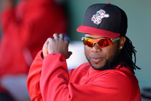 Cueto Enjoys Just Standing on the Mound