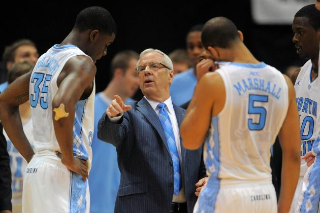 Tar Heels Adjust to New Rotations
